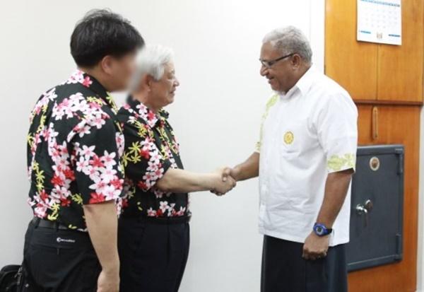 피지에서 활동하는 IYF