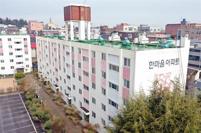신천지, 대구 한마음아파트 조직적 입주 정황