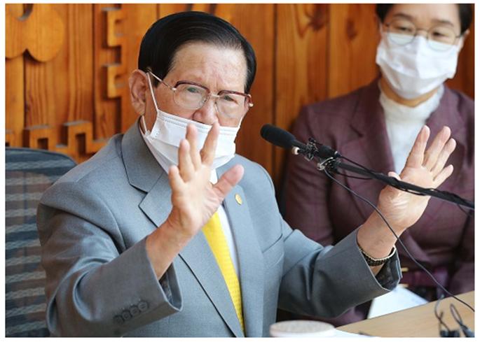 법원, 신천지 이만희 구속적부심 기각