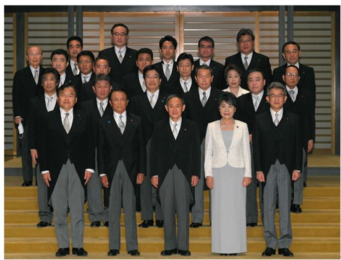 일본의 스가 내각과 종교 사정