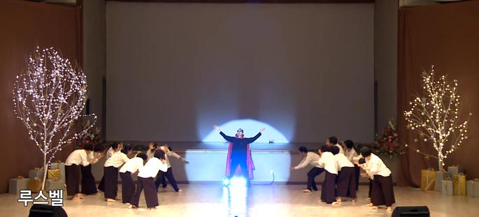 십계석국총회, 박명호 신격화 뮤지컬 공연